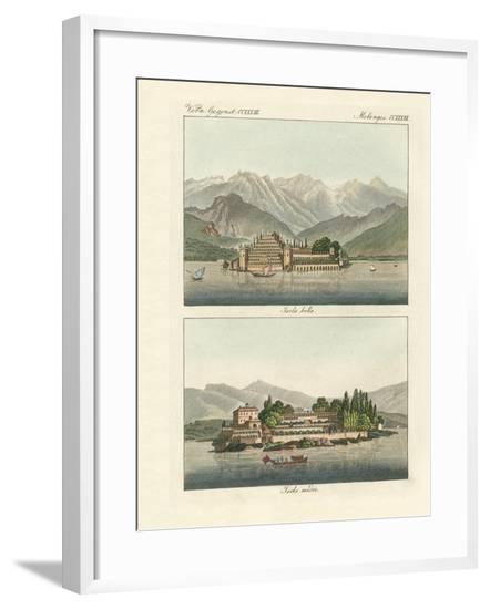 The Borromeo Islands--Framed Giclee Print