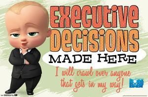 THE BOSS BABY - EXEC