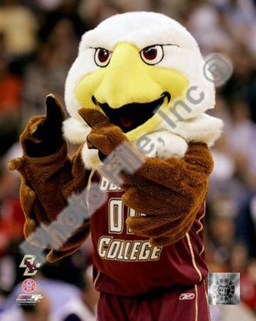 The Boston College Eagles Mascot