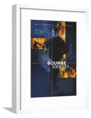 The Bourne Identity--Framed Masterprint