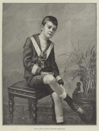 The Boy King of Servia, Alexander Obrenovitch