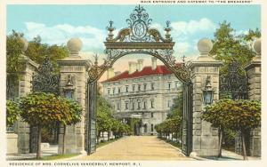 The Breakers, Vanderbilt Residence, Newport, Rhode Island