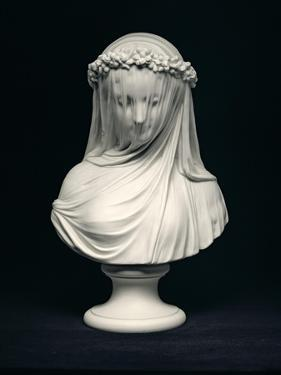 The Bride, after the Head by Raffaelle Monti, Copeland, England, 1873