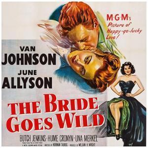 The Bride Goes Wild, from Top: Van Johnson, June Allyson, Arlene Dahl, 1948