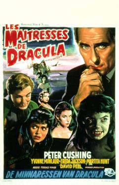 The Brides of Dracula, (aka Les Maitresses De Dracula), 1960