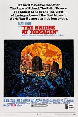 The Bridge at Remagen, Top from Left: George Segal, Ben Gazzara, 1969