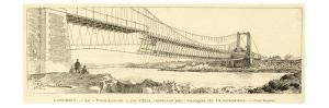 The Bridge 'Pont-Lorois, after it's Collapse