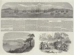 The British and French Fleets in Besika Bay, August, 1853