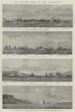 The British Fleet in the Dardanelles