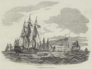 The British Fleet Off Gibraltar