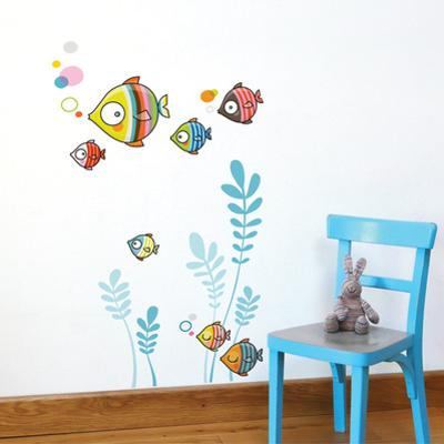 The Bubble Family Wall Decal