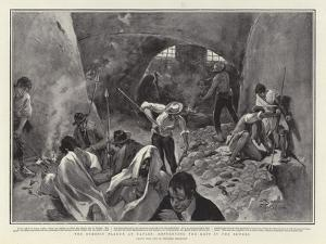 The Bubonic Plague at Naples, Destroying the Rats in the Sewers