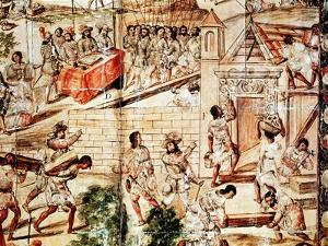 The Building of Mexico City, 16th Century