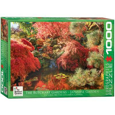 The Butchart Gardens Japanese Garden 1000 Piece Puzzle