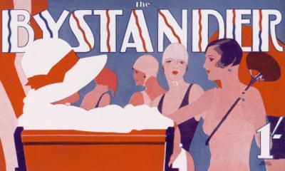 The Bystander Masthead by Tony Castle, 1930