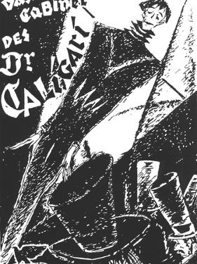 The Cabinet of Dr. Caligari, German Movie Poster, 1919