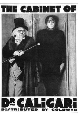 The Cabinet of Dr Caligari Movie Werner Krauss Plastic Sign