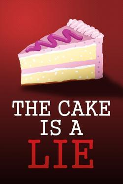 The Cake is a Lie - Portal Video Game