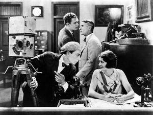The Cameraman, Buster Keaton, Harold Goodwin, Sidney Bracey, Marceline Day, 1928