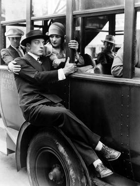 The Cameraman, Buster Keaton, Marceline Day, 1928