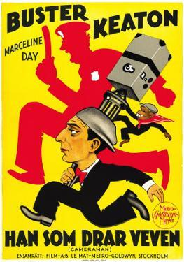 The Cameraman, Spanish Movie Poster, 1928