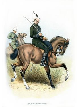 The Cape Mounted Rifles, C1890 by H Bunnett