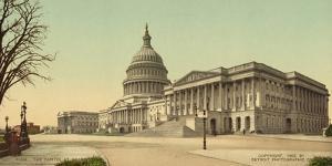 The Capitol at Washington, c.1902