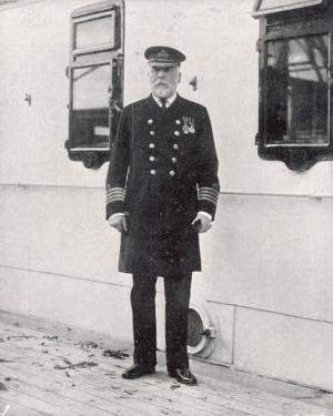 The Captain of the Ss Titanic, Captain E J Smith