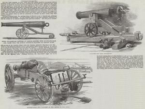 The Captured Russian Guns at Portsmouth