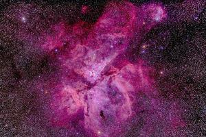 The Carina Nebula in the Southern Sky