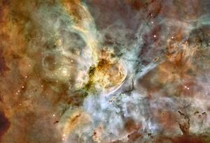 The Carina Nebula: Star Birth in the Extreme Space Photo Art Poster Print