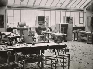 The Carpenter's Workshop, from the Workshops of the Bauhaus, Weimar, 1923