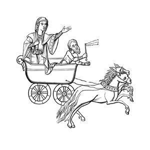 The Carruca, 9th Century