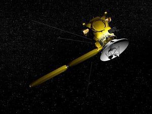 The Cassini Spacecraft in Orbit