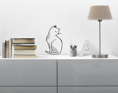 The cat / Le chat