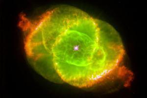 The Cat's Eye Nebula Space