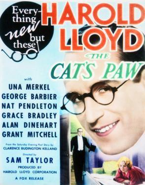 The Cat's-Paw - Movie Poster Reproduction