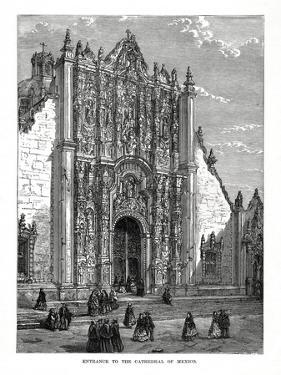 The Cathedral, Mexico City, Mexico, 19th Century