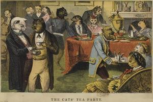 The Cats' Tea Party