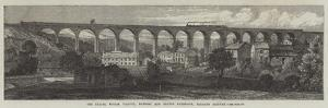 The Chapel Milton Viaduct, Rowsley and Buxton Extension, Midland Railway