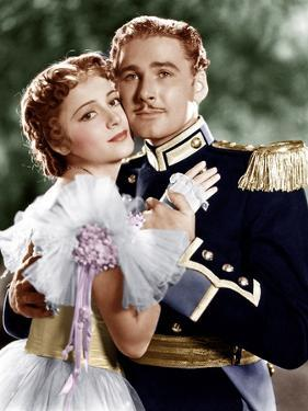 THE CHARGE OF THE LIGHT BRIGADE, from left: Olivia de Havilland, Errol Flynn, 1936