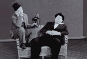 Laurel and Hardy by The Chelsea Collection