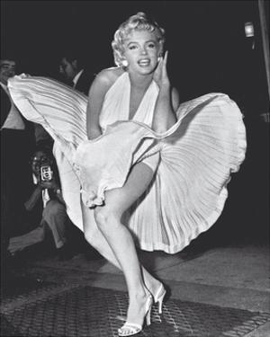 Marilyn's 7 Year Itch Pose by The Chelsea Collection