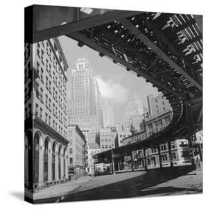 New York Cityscape, Sunday by The Chelsea Collection