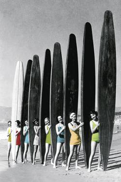 Surfin' Gals - Colour Pop by The Chelsea Collection