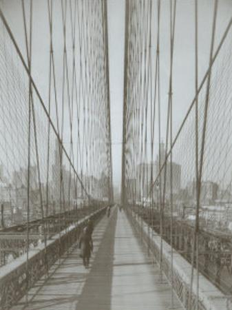 The Brooklyn Bridge by The Chelsea Collection