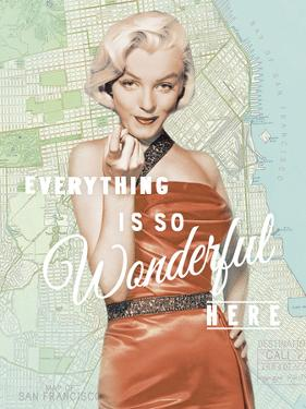 Wonderful Marilyn by The Chelsea Collection