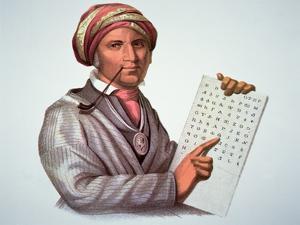 The Cherokee Scholar, Sequoyah