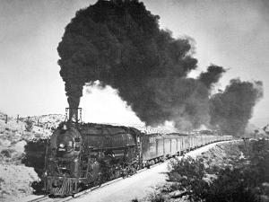 The Chief' of the Santa Fe Railroad, 1930S