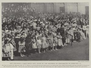 The Children's Fancy-Dress Ball Given by the Mayoress of Portsmouth on 10 February